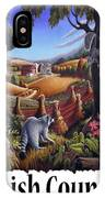 Amish Country - Coon Gap Holler Country Farm Landscape IPhone Case