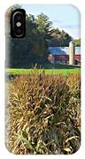 Amish Farm Country Fall IPhone Case