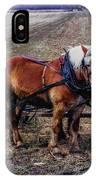 Amish Farming Team IPhone Case