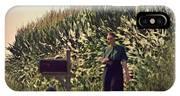 Amish Girls Watermelon Break IPhone Case