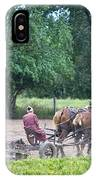 Amish Lady Disking IPhone Case
