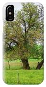Amish Man And Tree IPhone Case