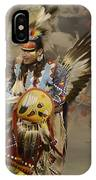 Pow Wow Among Friends IPhone Case