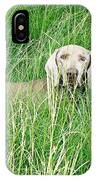 Among The Grasses IPhone Case