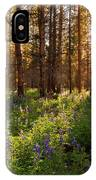 Among The Lupines IPhone Case
