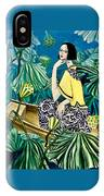Among The Withered Lotus  IPhone Case