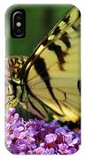 Amorous Butterfly And Faerie IPhone Case