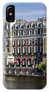 Amstel Amsterdam Hotel IPhone Case