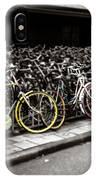 Amsterdam Bikes IPhone Case