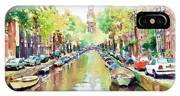 Amsterdam Canal 2 IPhone Case