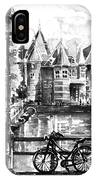 Amsterdam In Black And White IPhone Case