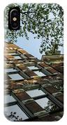 Amsterdam Spring - Fancy Brickwork Glow - Left Horizontal IPhone Case