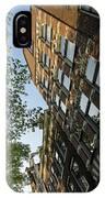 Amsterdam Spring - Fancy Brickwork Glow - Left Vertical IPhone Case