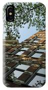 Amsterdam Spring - Fancy Brickwork Glow - Right Horizontal IPhone Case