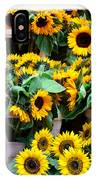 Amsterdam Sunflowers IPhone Case