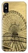 Amusement Park Vintage IPhone Case