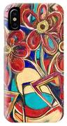 An Abstract Floral IPhone Case
