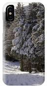 An Alpine Ski Trail On Wildcat Mountain IPhone Case