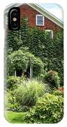 An Amana Garden IPhone Case