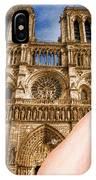 An American In Paris Notre Dame IPhone Case