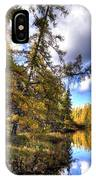 An Autumn Day At Woodcraft Camp IPhone Case