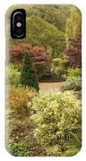An Autumn Garden  IPhone Case