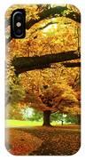 An Autumn Walk Through History IPhone Case