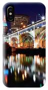 An Early Evening In Cleveland IPhone Case