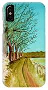 An English Footpath IPhone Case