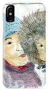 An Eskimo Mother And Child IPhone Case
