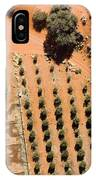 An Olive Grove Between The Succulent IPhone Case