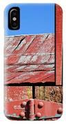 Anatomy Of An Old Barn- Fine Art IPhone Case