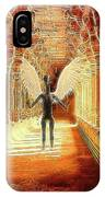 Ancient Alien Angel IPhone Case
