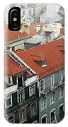 Ancient Buildings At Lisbon. Portugal IPhone Case