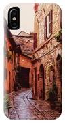 Ancient Italian Village IPhone Case