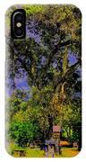 Ancient Oak At Rinconada De Los Gatos S IPhone Case