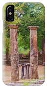 Ancient Olympia, Greece. IPhone Case