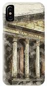 Ancient Pantheon IPhone Case