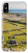 Ancient Settlement In The Burren IPhone Case