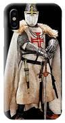 Ancient Templar Knight - 02 IPhone Case
