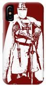 Ancient Templar Knight - 03 IPhone Case