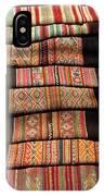 Andean Textile Market IPhone Case