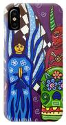 Angel And Devil-day Of The Dead IPhone Case