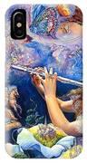 Angel Flute IPhone Case