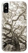 Angel Oak Tree Charleston Sc IPhone Case