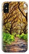 Angel Oaks In Sunshine IPhone Case