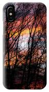 Angel On A Wire IPhone Case