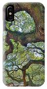 Angel Tree Abstract IPhone Case