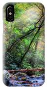 Angels At The River IPhone Case