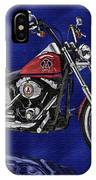 Angels Harley - Oil IPhone Case